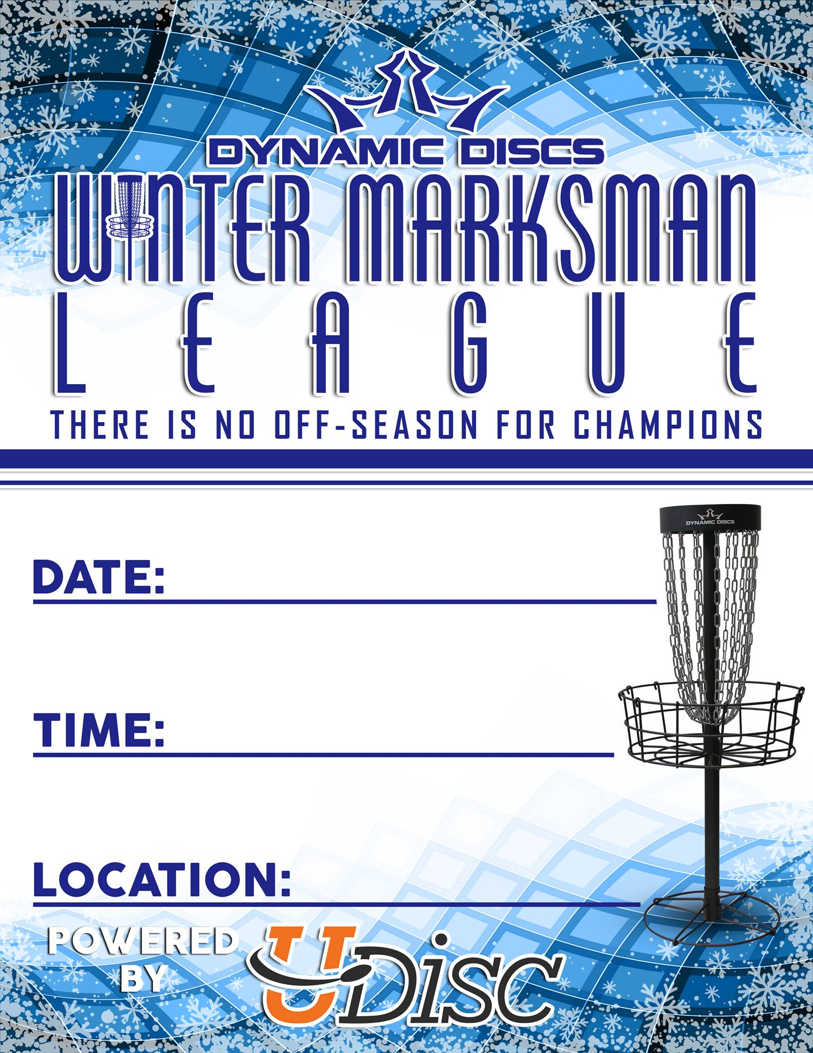 Winter Putting League @ Memorial Hall, Lake County Court House